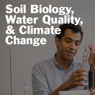 Matt Reid talks about soil biology, water quality, and climate change