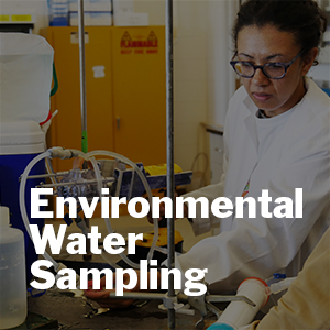 Yolanda Brooks discusses environmental water sampling