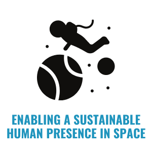 Enabling a sustainable human presence in space