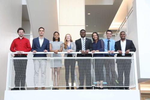 Group photo of the 2019 LSAMP REU participants