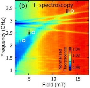 T1 spectroscopy