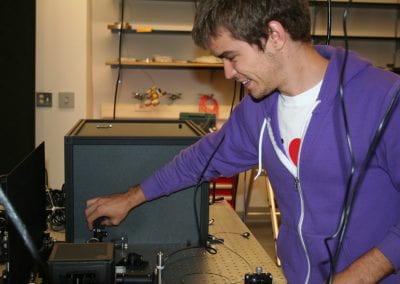 Evan in Lab