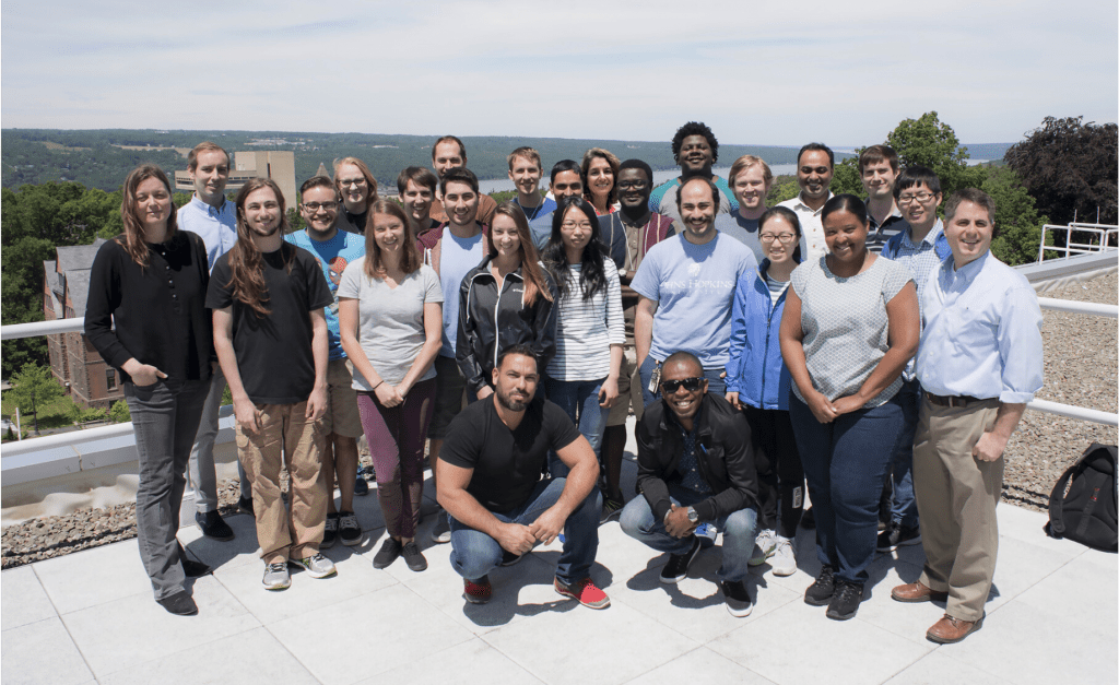 Group photo from the 2017 Summer school