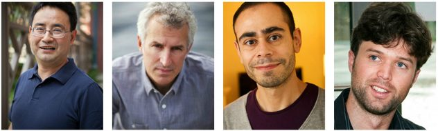 Headshots of Profs: Gao, Cowen, Daziano and McLaskey