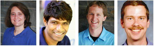 Headhots of Profs. Nozick, Samaranayake, Warner and Weber-Shirk