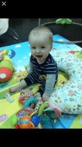 picture of happy baby