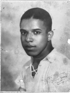 "Alfred ""Tup"" Holmes Senior photo. Courtesy of the Holmes Family Archive."