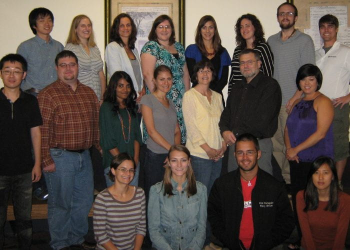 Human Factors and Aging Lab Members from 2011