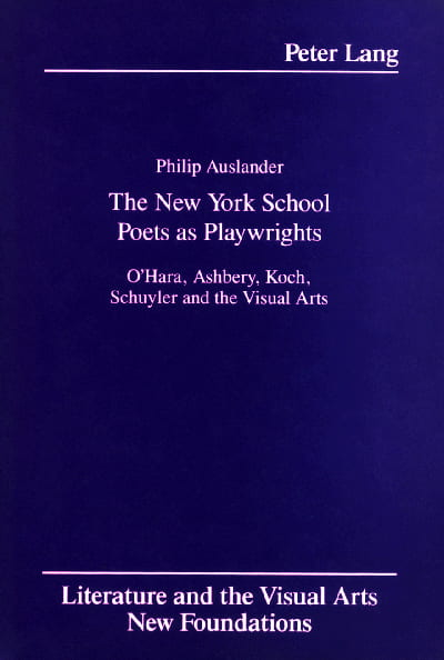 new york school book cover