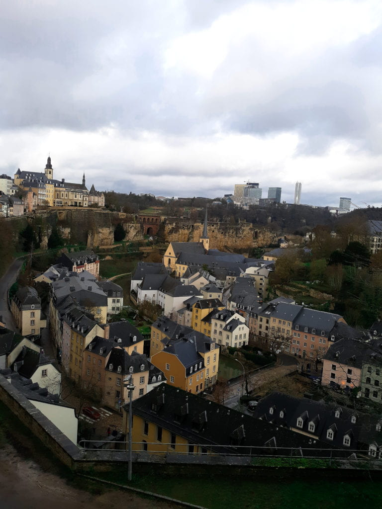 What a view of Luxembourg!
