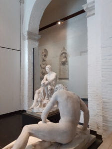 Sculptures at the Gallerie dell'Accademia