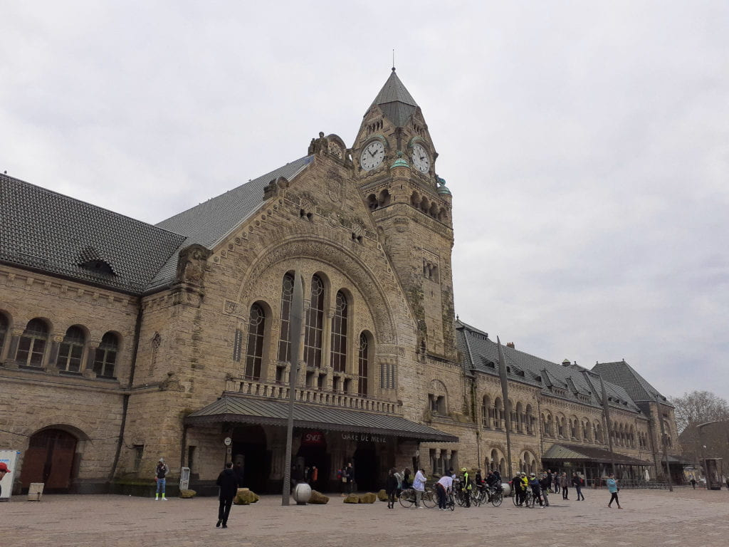 Gare de Metz-Ville, the starting location for many a weekend excursion