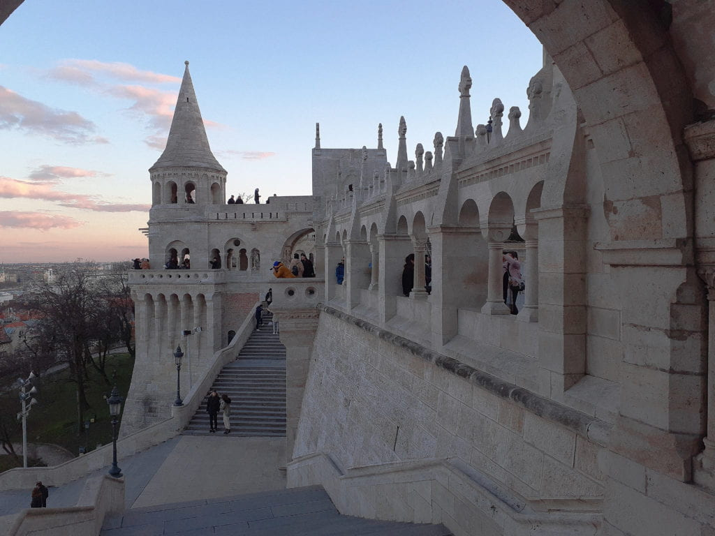 The iconic Fisherman's Bastion