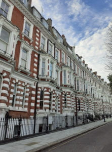 Kensington townhouses