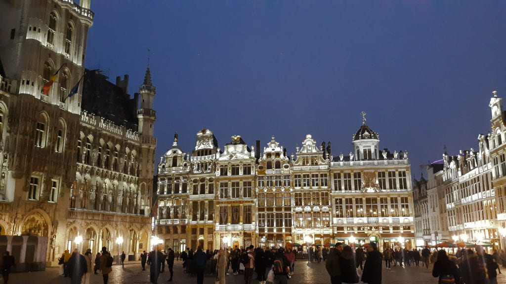 Brussels' Grote Markt, or Grand Place, one of the many marvels I had the privilege of seeing this semester