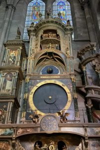 The astronomical clock in the Cathédrale Notre Dame de Strasbourg