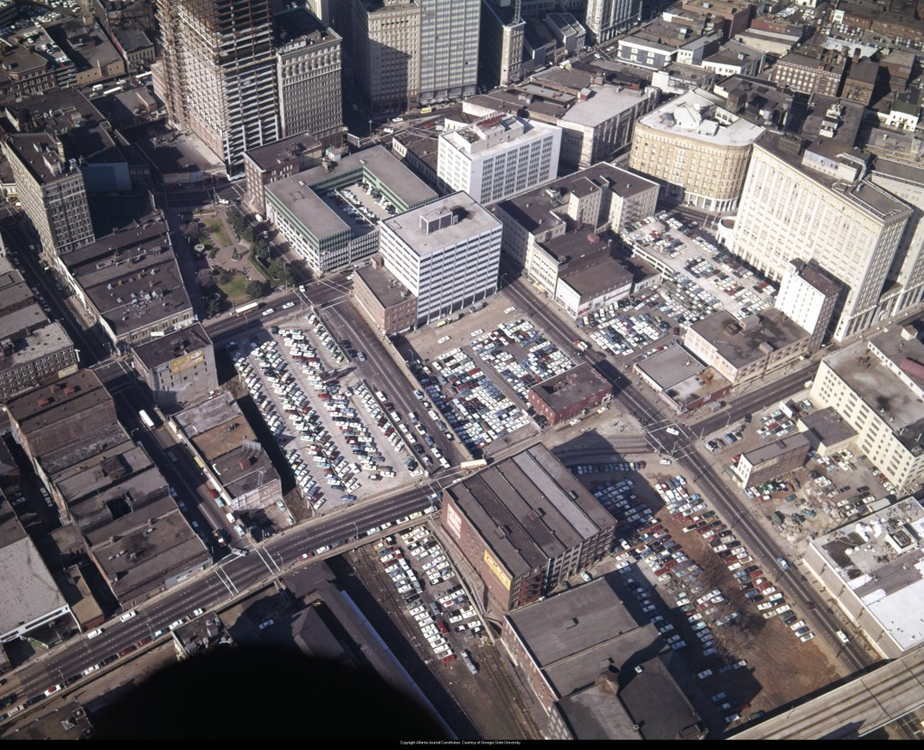 Aerial_view_of_the_city_looking_northwest_showing_the_many_parking_lots_and_decks_the_State_of_Georgia_building_is_under_construction_Atlanta_Georgia_December_21_1965