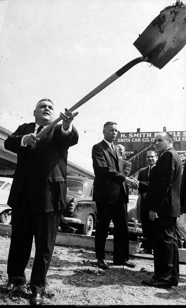 Classroom South Groundbreaking, 1963