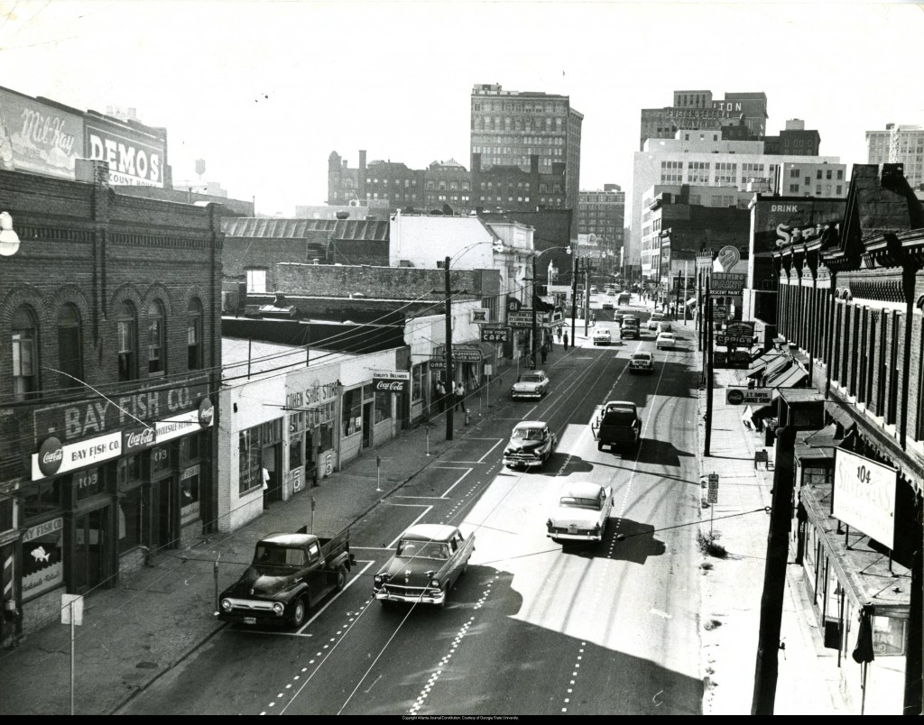 View_of_Decatur_Street_storefronts_1950s
