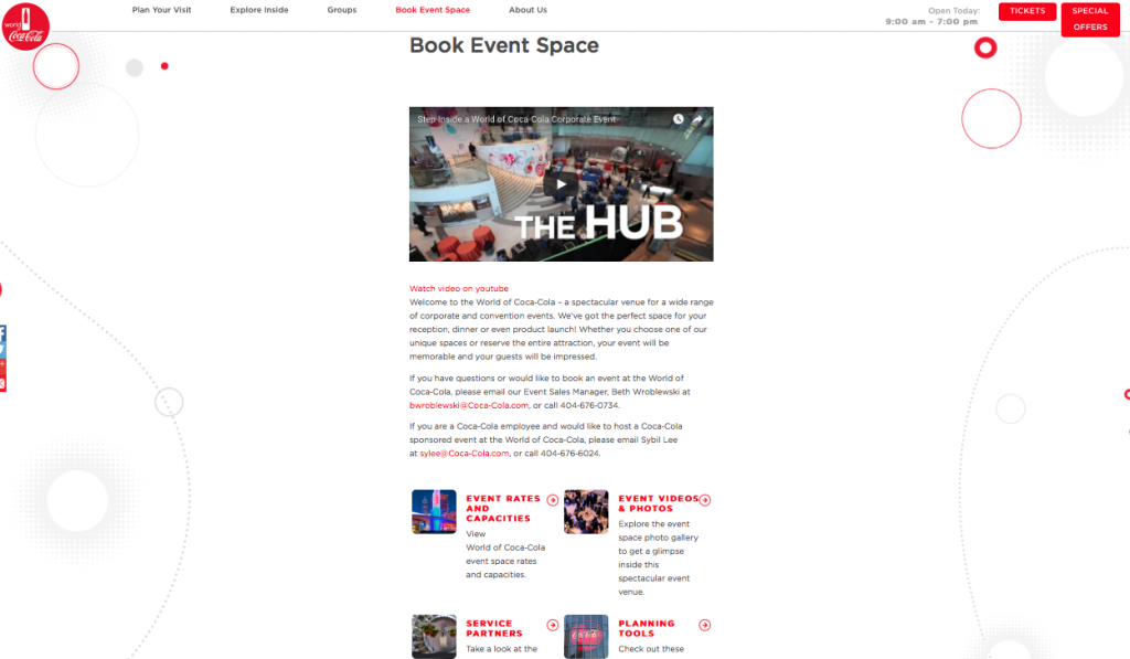 book event space