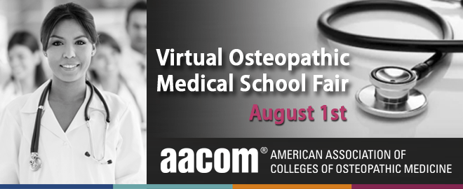 Virtual Osteopathic Medical School Fair