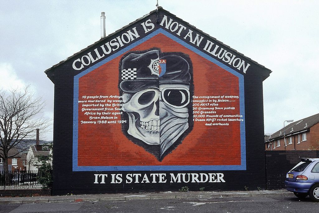 Murals of northern ireland and the troubles 20th century for Murals belfast
