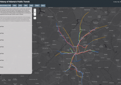 Tracing a History of Atlanta's Public Transit