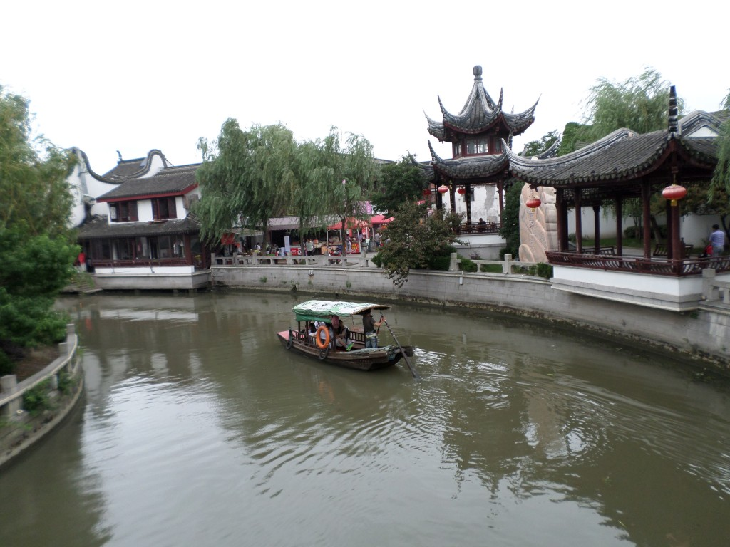 Zhaojialou, a water village near Shanghai