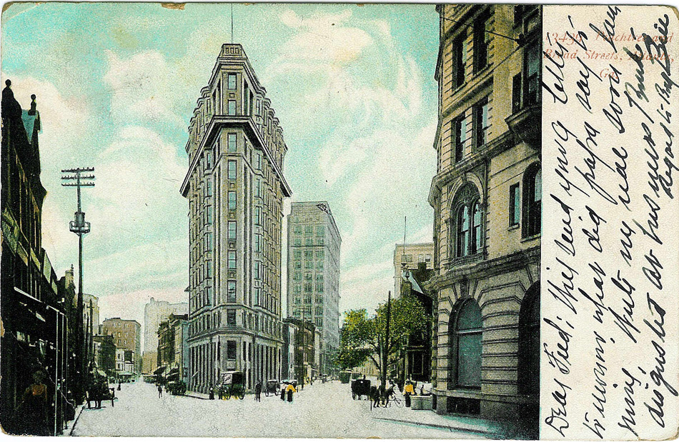 Flatiron Postcard #6. Atlantatimemachine.com