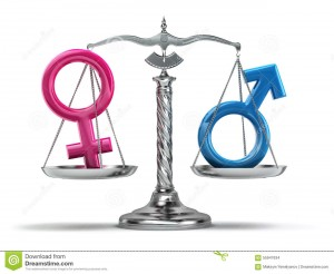 gender-equality-concept-male-female-signs-scales-iso-white-d-55947634