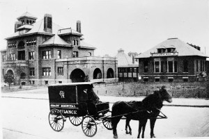 Old Grady Memorial Hospital in 1896 – Georgia State University Library