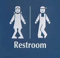 Unisex Bathroom Sign.