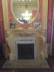 Fireplace in the Parlor