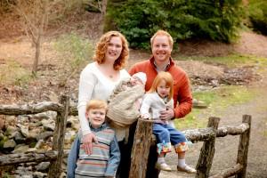Jamie Williams Family Photo