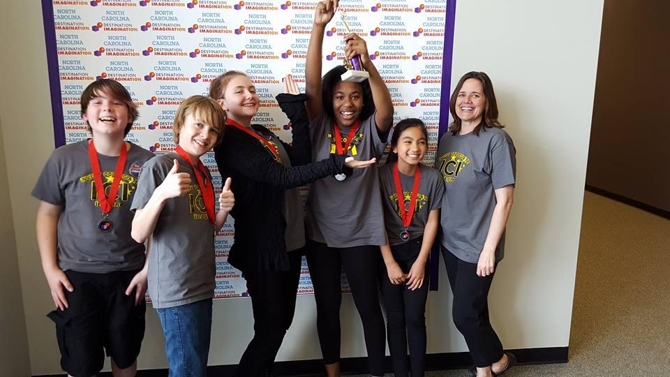 Destination Imagination Teams win Big this weekend!