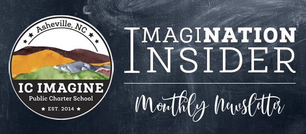 IC Imagine Logo, ImagiNation Insider Newsletter Logo