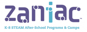 Zaniac Logo K-8 STEAM After School Programs & Camps