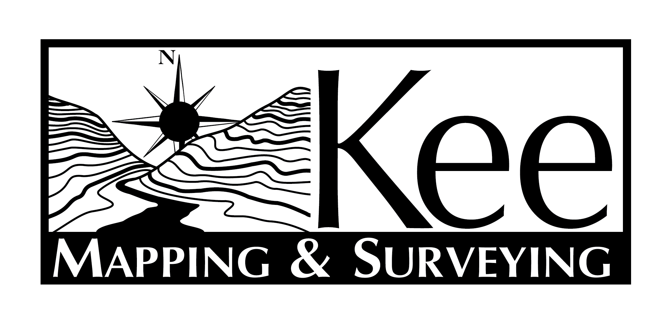 Kee Mapping and Surveying logo