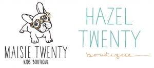 hazel and maisie twenty logo