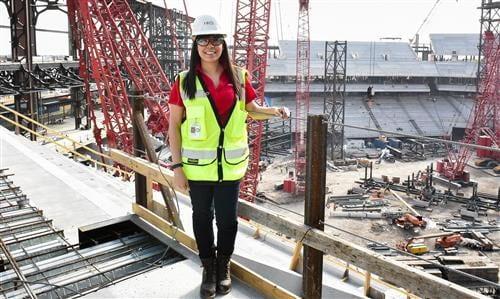 DALLAS MORNING NEWS: Singley Graduate Helps Design New Rangers' Baseball Stadium