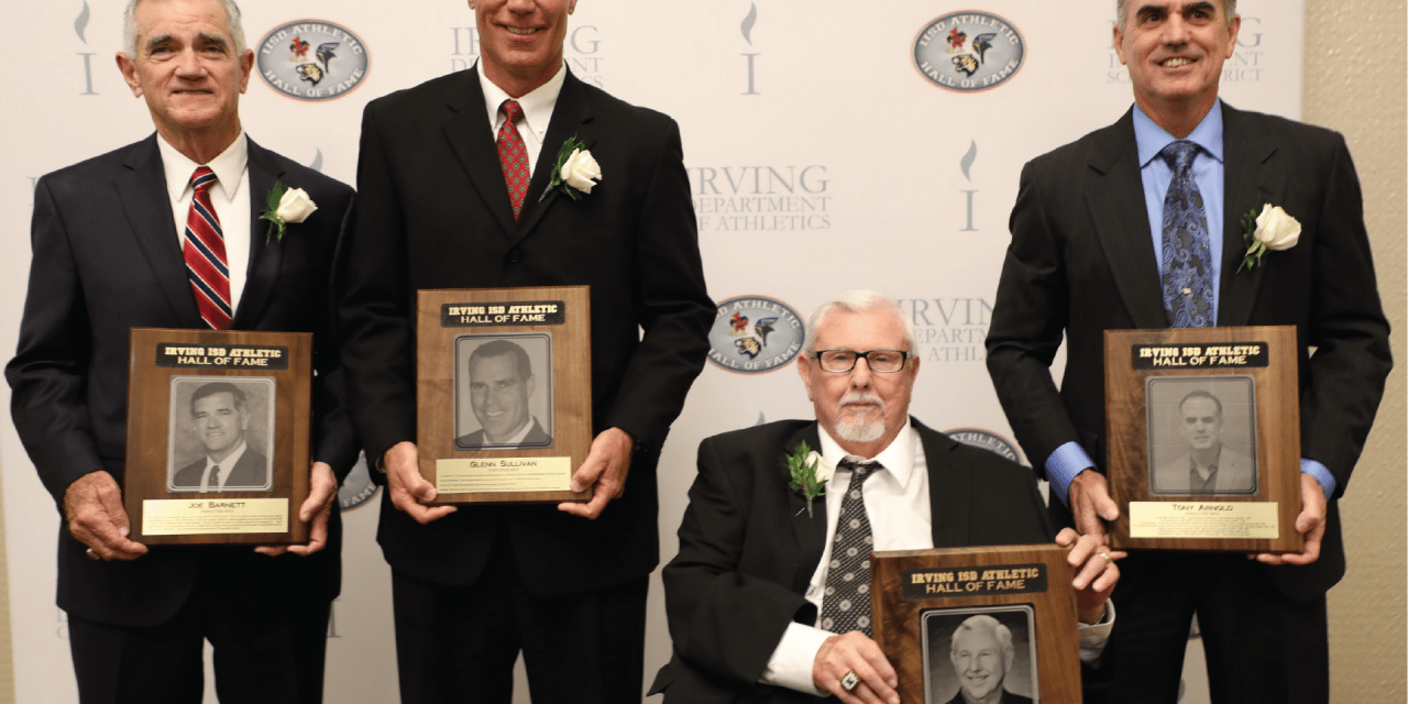 RAMBLER NEWSPAPER: Irving ISD Inducts Members into Athletic Hall of Fame