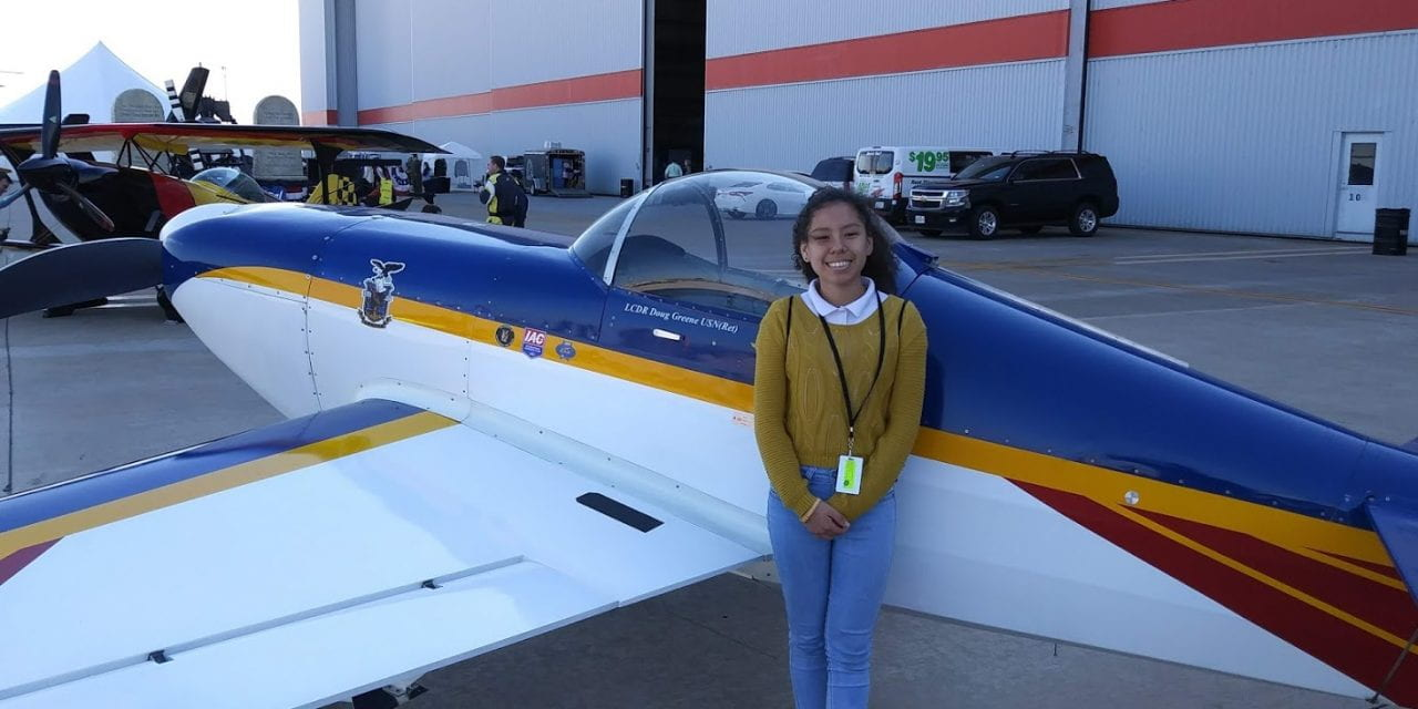 Agarrando vuelo en Escuela de Aviación