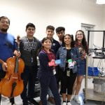 PEOPLE MAGAZINE: Texas High Schoolers Design, Build Prosthetic Arm for Student So She Can Play the Cello