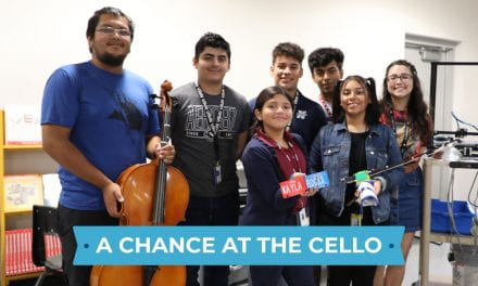 Nimitz Students Create Musical Prosthetic