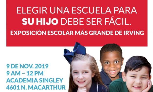Distrito organizará EXPO de Elección de Escuela el 9 de Nov