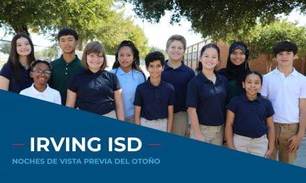 Conozca las escuelas de Irving ISD desde su interior