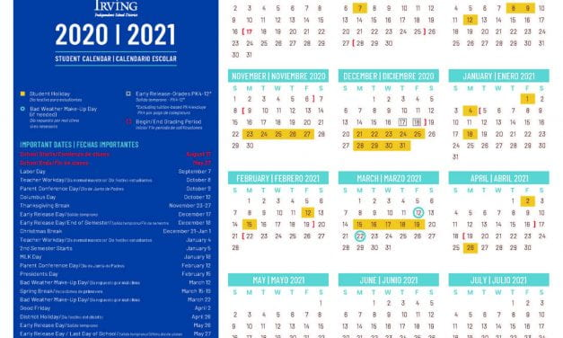 2020-2021 Calendars Now Available