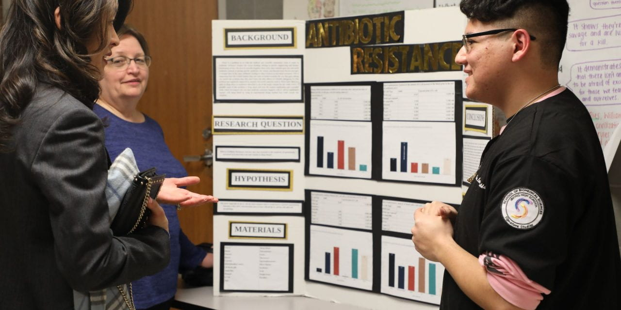 Science Fair Opens the Door to College
