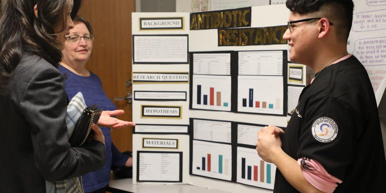 Science Fair Opens the Door to College