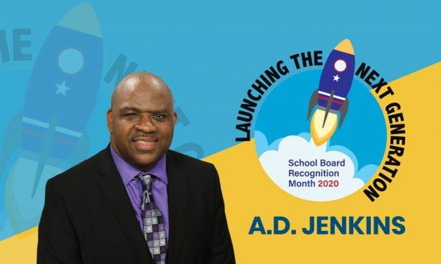 Board Appreciation: A.D. Jenkins